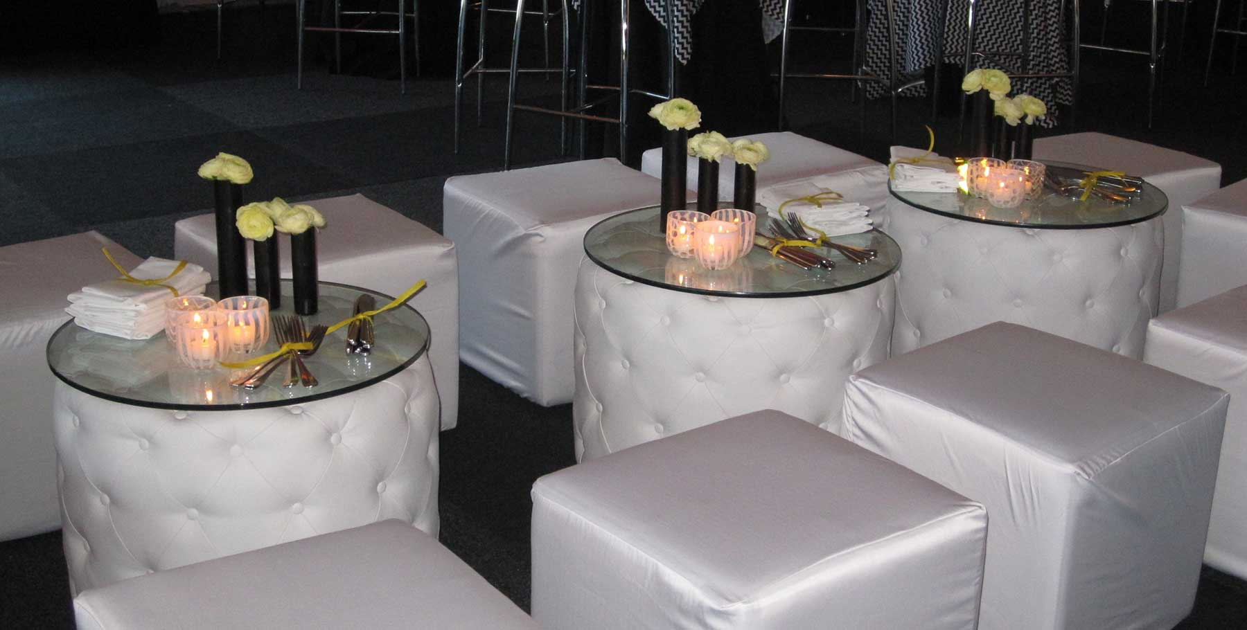 Furniture at Chair Covers Candelabra
