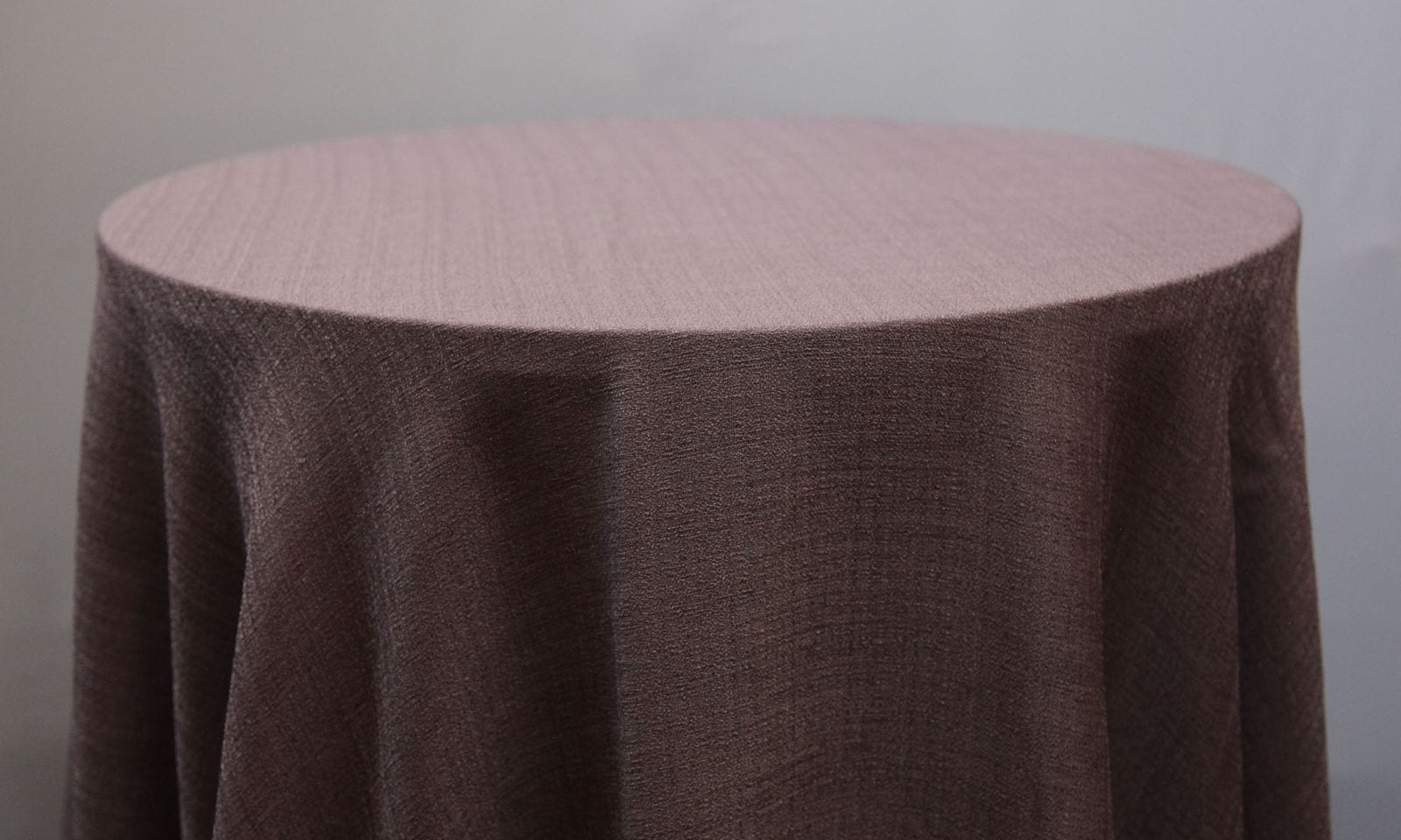 Lilac Linen Tablecloth - Event Hire - Chair Covers and Candelabra